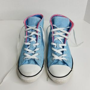 Converse Multi-color High Top Shoes